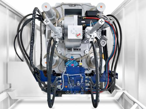 Innovative dual drive technology for clamping units
