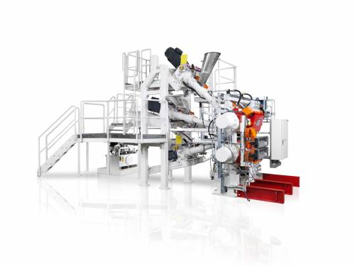 Mulitplex extrusion systems with up to 7 extruders