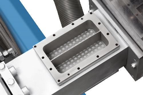 UltraFeed side feeder vacuum degassing
