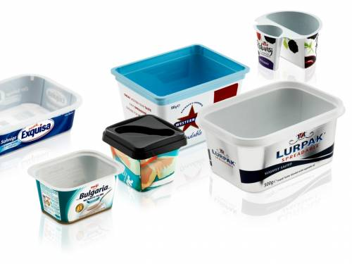 Thin Wall Packaging IML Container and Lids
